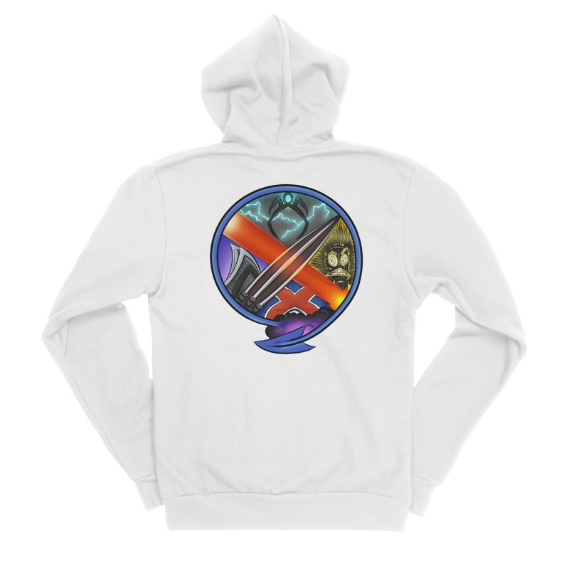 X is for Podcast: An Uncanny X-Men Experience Men's Sponge Fleece Zip-Up Hoody by The CageClub Podcast Network Shop