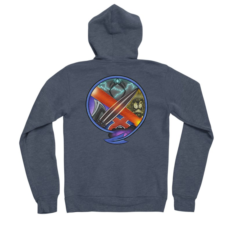 X is for Podcast: An Uncanny X-Men Experience Women's Sponge Fleece Zip-Up Hoody by The CageClub Podcast Network Shop