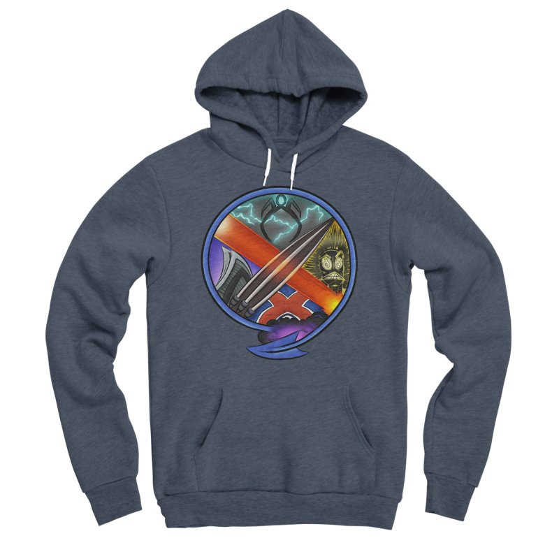 X is for Podcast: An Uncanny X-Men Experience Men's Sponge Fleece Pullover Hoody by The CageClub Podcast Network Shop