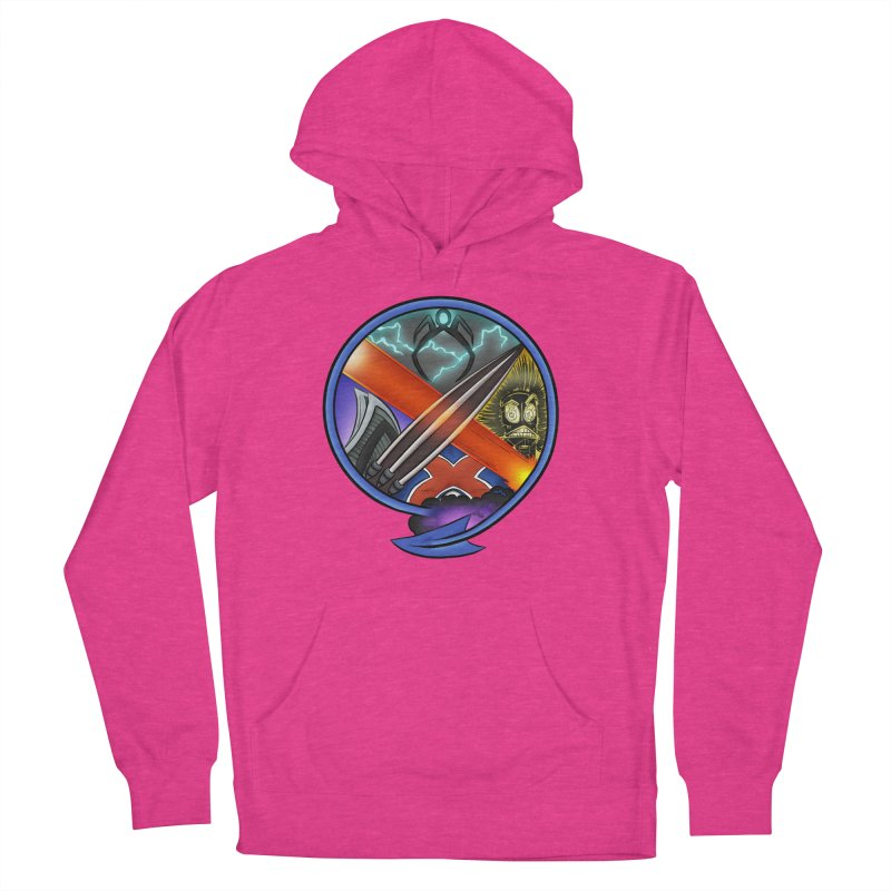 X is for Podcast: An Uncanny X-Men Experience Men's French Terry Pullover Hoody by The CageClub Podcast Network Shop