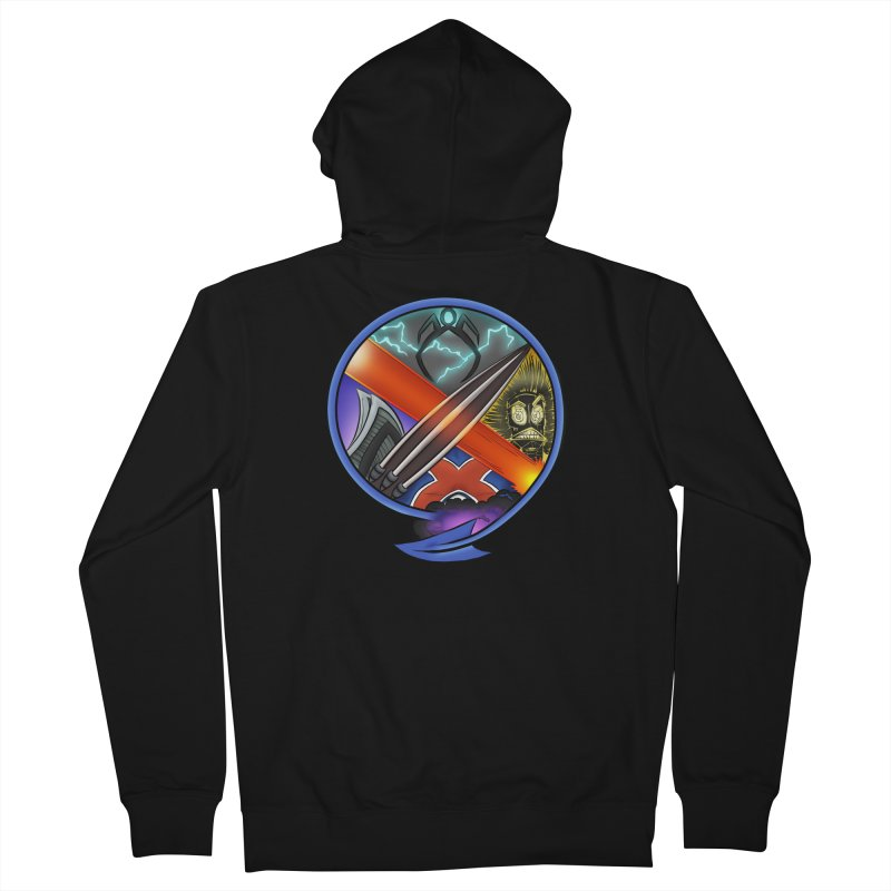 X is for Podcast: An Uncanny X-Men Experience Women's French Terry Zip-Up Hoody by The CageClub Podcast Network Shop