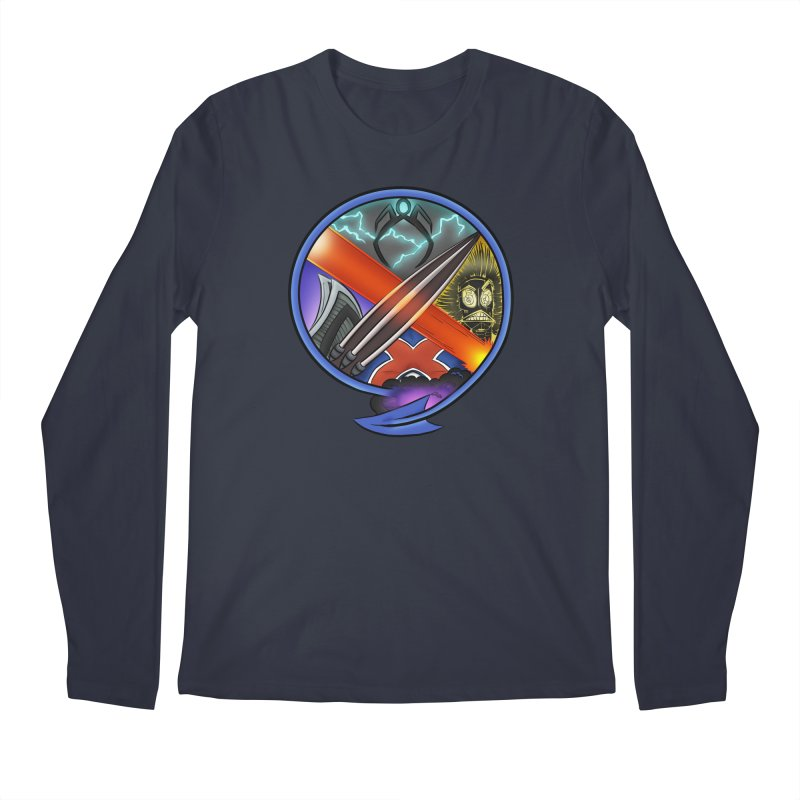 X is for Podcast: An Uncanny X-Men Experience Men's Regular Longsleeve T-Shirt by The CageClub Podcast Network Shop
