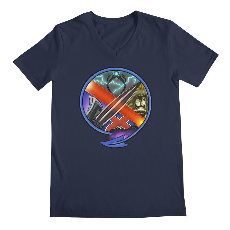 X is for Podcast: An Uncanny X-Men Experience Men's Regular V-Neck by The CageClub Podcast Network Shop