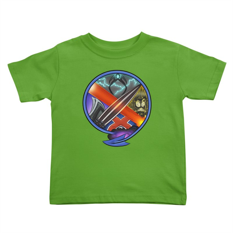 X is for Podcast: An Uncanny X-Men Experience Kids Toddler T-Shirt by The CageClub Podcast Network Shop