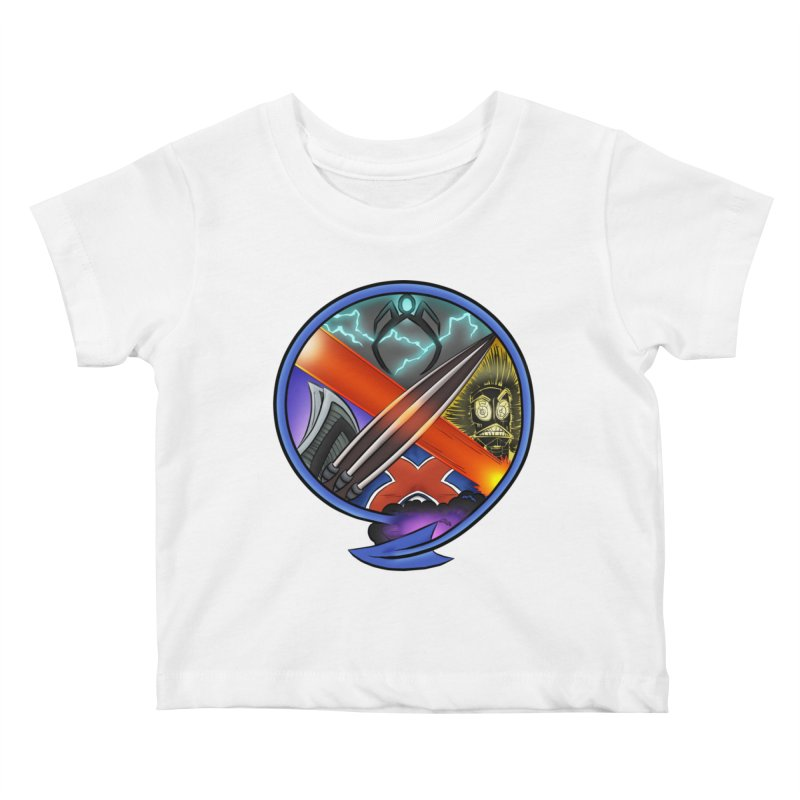 X is for Podcast: An Uncanny X-Men Experience Kids Baby T-Shirt by The CageClub Podcast Network Shop