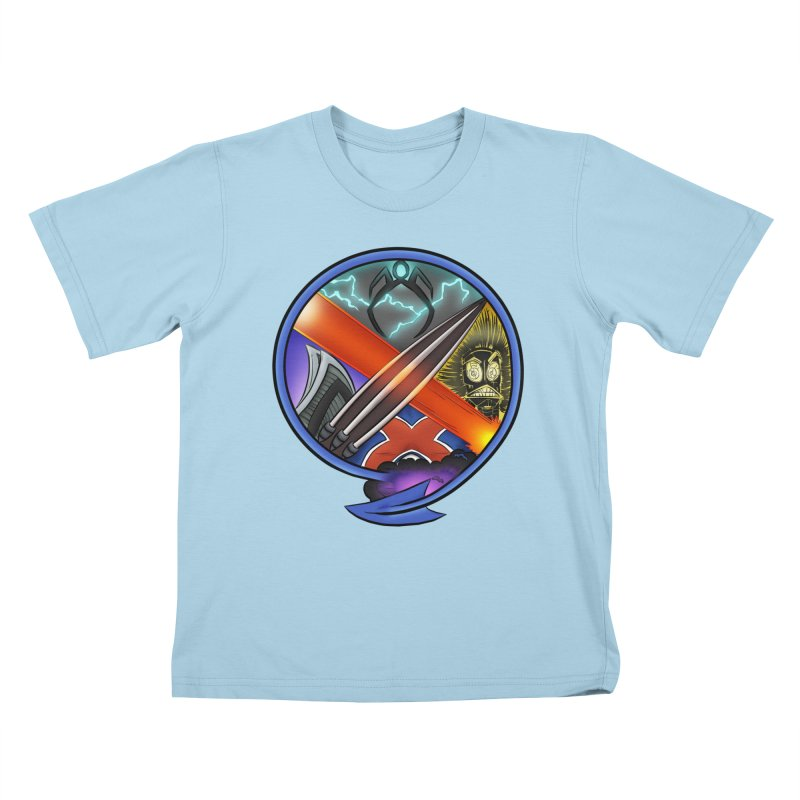 X is for Podcast: An Uncanny X-Men Experience Kids T-Shirt by The CageClub Podcast Network Shop