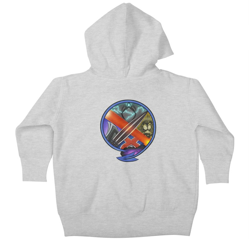 X is for Podcast: An Uncanny X-Men Experience Kids Baby Zip-Up Hoody by The CageClub Podcast Network Shop
