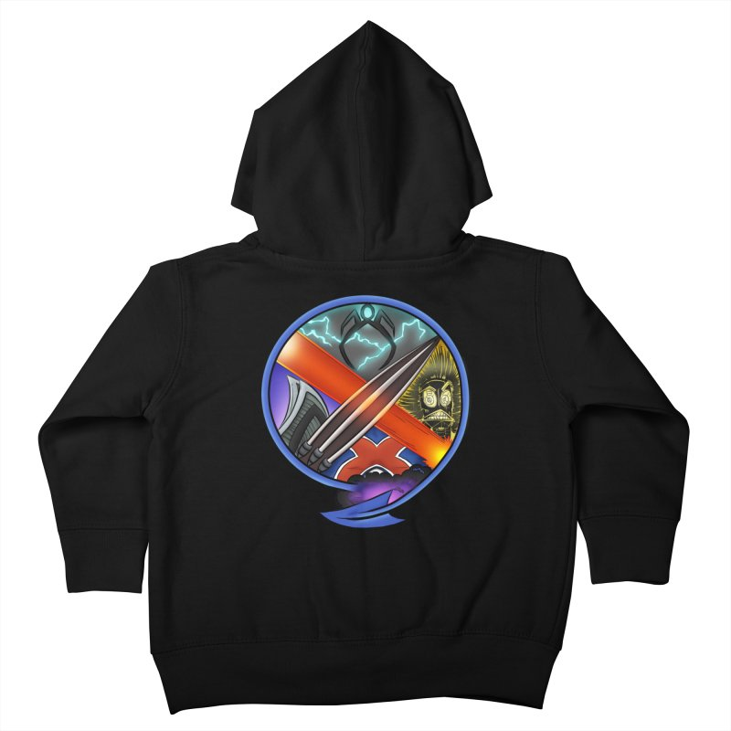 X is for Podcast: An Uncanny X-Men Experience Kids Toddler Zip-Up Hoody by The CageClub Podcast Network Shop