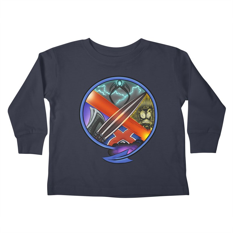 X is for Podcast: An Uncanny X-Men Experience Kids Toddler Longsleeve T-Shirt by The CageClub Podcast Network Shop