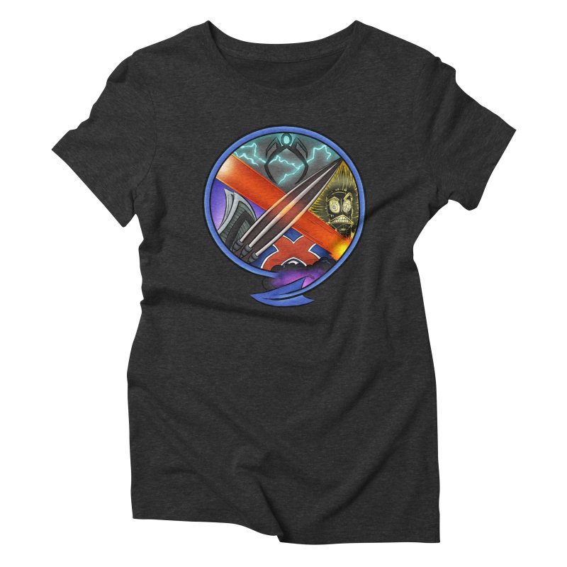 X is for Podcast: An Uncanny X-Men Experience Women's Triblend T-Shirt by The CageClub Podcast Network Shop