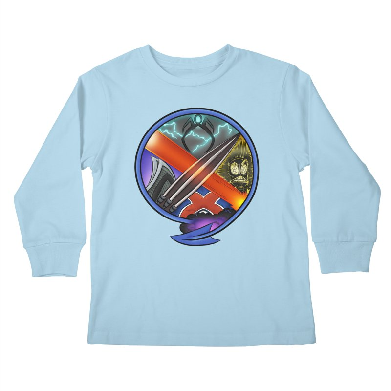 X is for Podcast: An Uncanny X-Men Experience Kids Longsleeve T-Shirt by The CageClub Podcast Network Shop