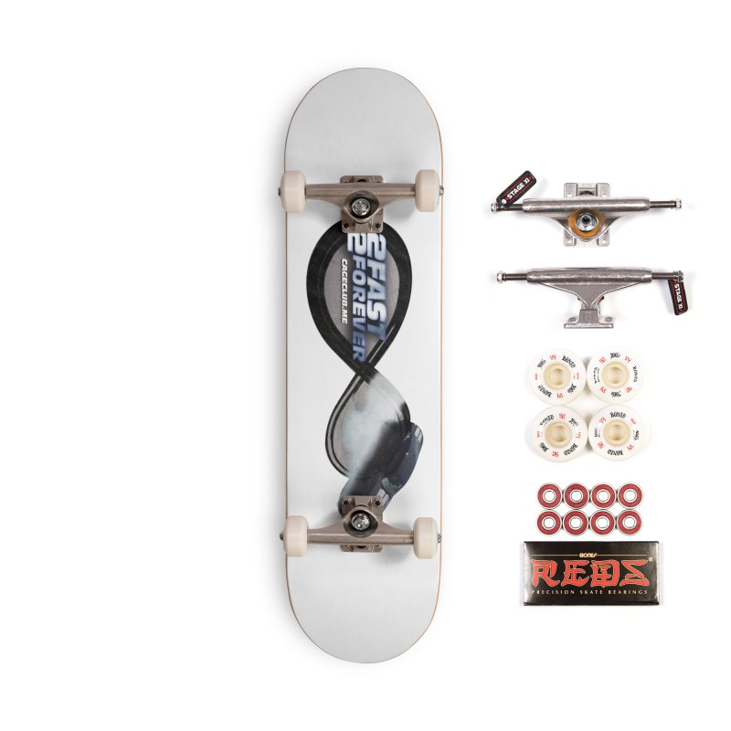 2 Fast 2 Forever: The Fast and the Furious Podcast Accessories Complete - Pro Skateboard by The CageClub Podcast Network Shop