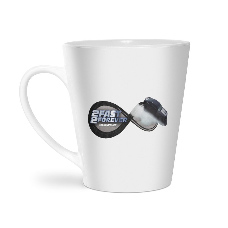 2 Fast 2 Forever: The Fast and the Furious Podcast Accessories Latte Mug by The CageClub Podcast Network Shop