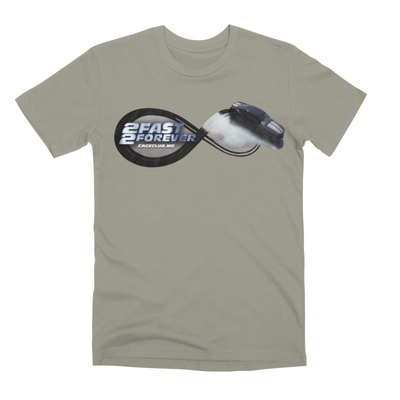 2 Fast 2 Forever: The Fast and the Furious Podcast Men's Premium T-Shirt by The CageClub Podcast Network Shop