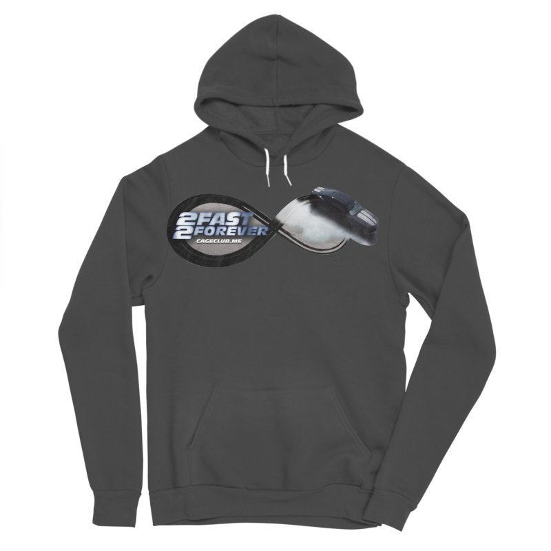 2 Fast 2 Forever: The Fast and the Furious Podcast Women's Sponge Fleece Pullover Hoody by The CageClub Podcast Network Shop