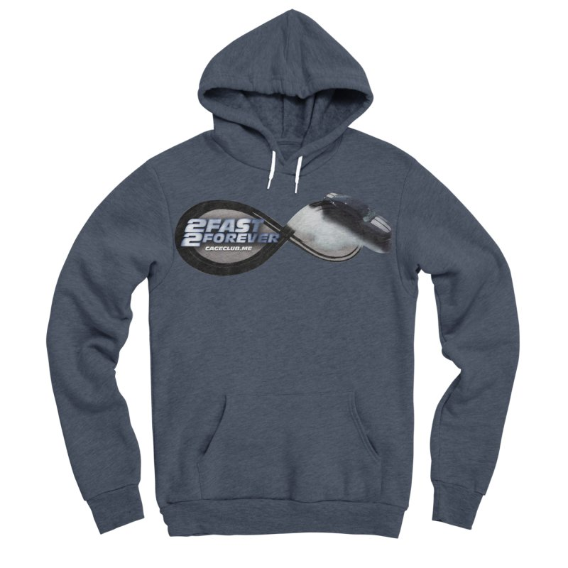 2 Fast 2 Forever: The Fast and the Furious Podcast Men's Sponge Fleece Pullover Hoody by The CageClub Podcast Network Shop