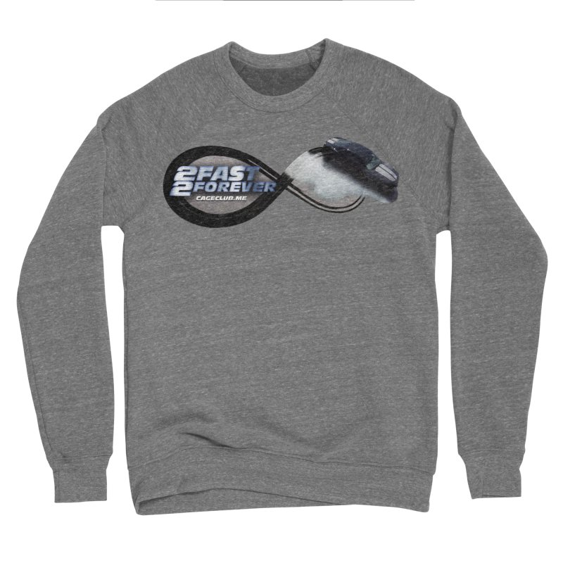 2 Fast 2 Forever: The Fast and the Furious Podcast Women's Sponge Fleece Sweatshirt by The CageClub Podcast Network Shop