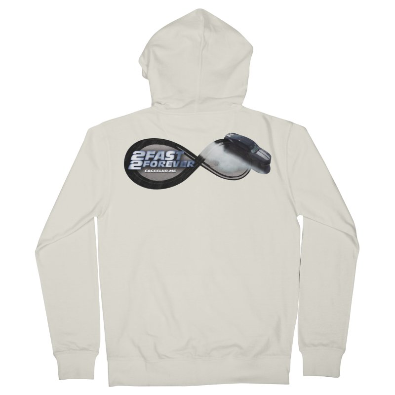 2 Fast 2 Forever: The Fast and the Furious Podcast Men's French Terry Zip-Up Hoody by The CageClub Podcast Network Shop