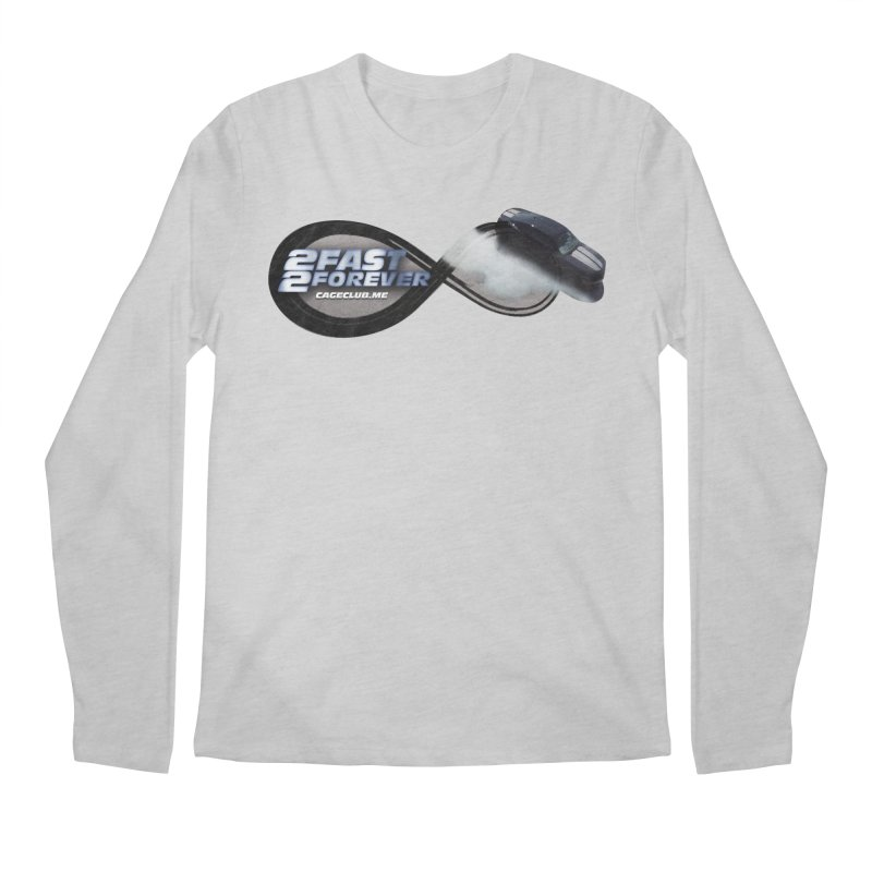 2 Fast 2 Forever: The Fast and the Furious Podcast Men's Regular Longsleeve T-Shirt by The CageClub Podcast Network Shop