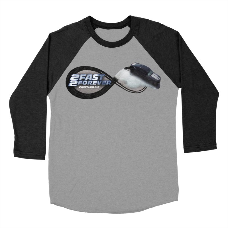 2 Fast 2 Forever: The Fast and the Furious Podcast Women's Baseball Triblend Longsleeve T-Shirt by The CageClub Podcast Network Shop