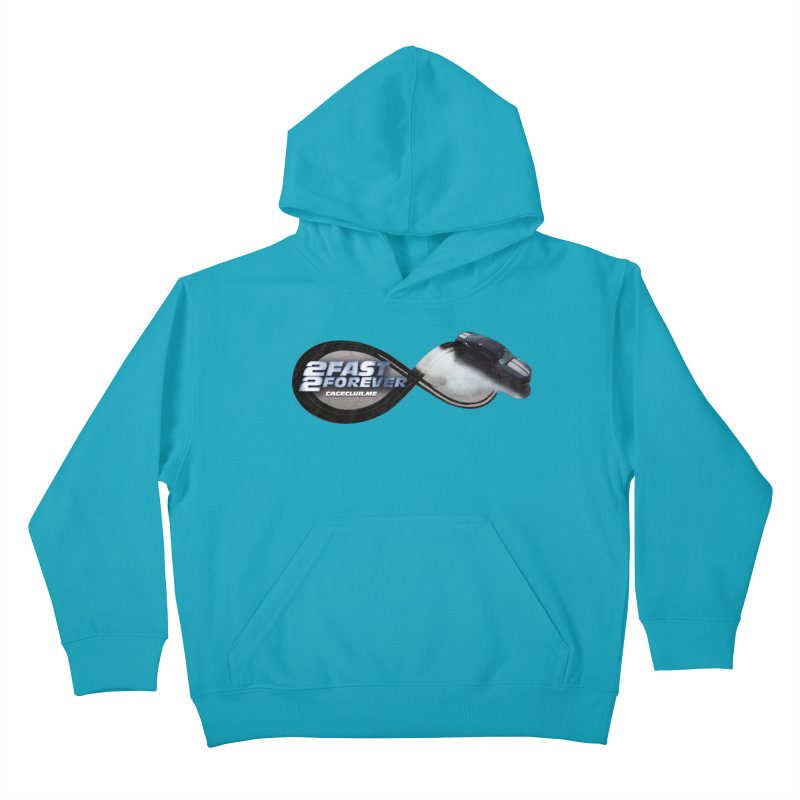 2 Fast 2 Forever: The Fast and the Furious Podcast Kids Pullover Hoody by The CageClub Podcast Network Shop