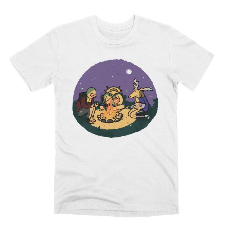 Campfire Men's T-Shirt by Cailin's Shop