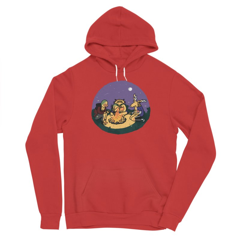 Campfire Men's Pullover Hoody by Cailin's Shop