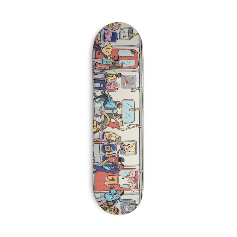 Subway Accessories Skateboard by Cailin's Shop