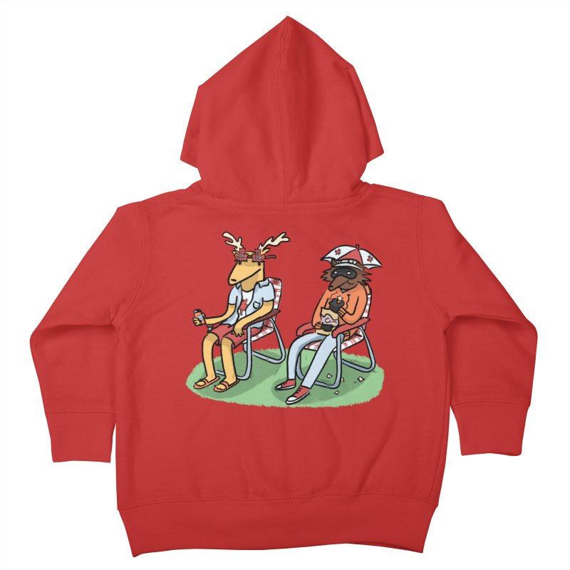 Canada Day Kids Toddler Zip-Up Hoody by Cailin's Shop