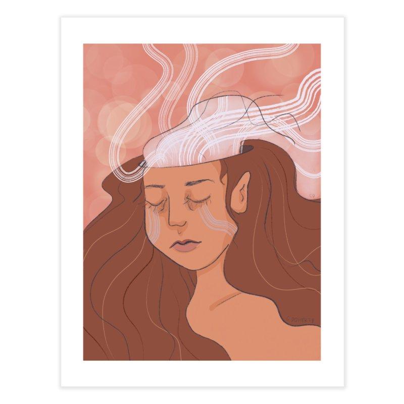 Losing Steam Home Fine Art Print by Cailin's Shop