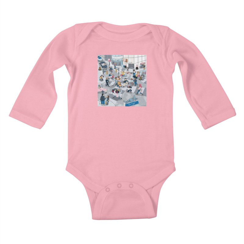 City Living Kids Baby Longsleeve Bodysuit by Cailin's Shop