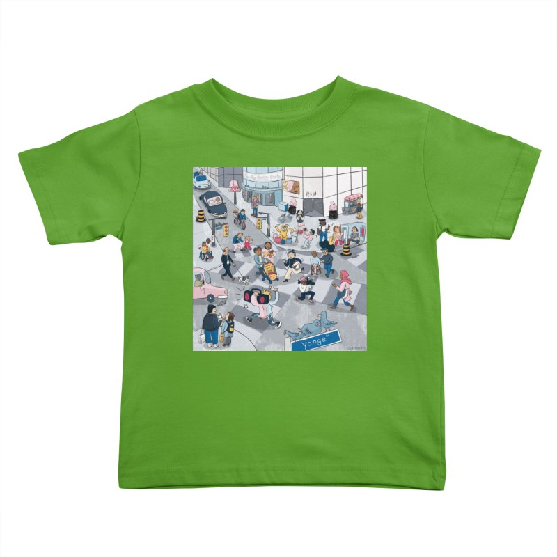City Living Kids Toddler T-Shirt by Cailin's Shop
