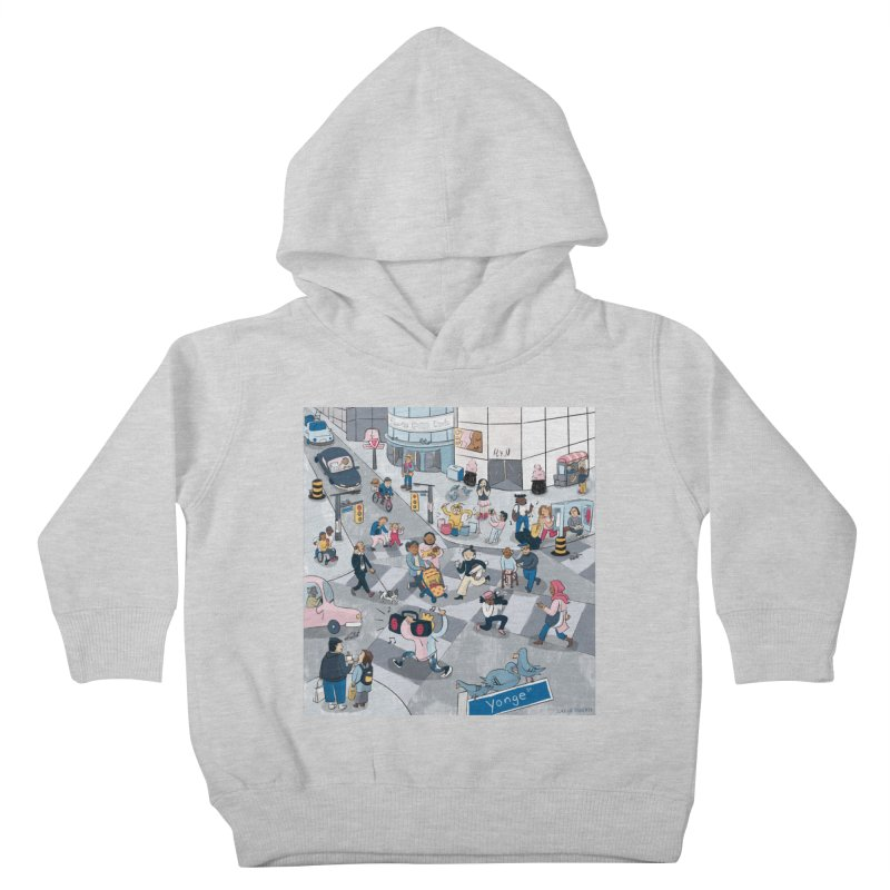 City Living Kids Toddler Pullover Hoody by Cailin's Shop