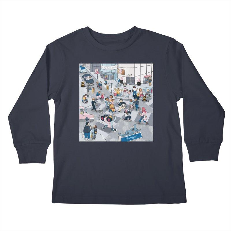 City Living Kids Longsleeve T-Shirt by Cailin's Shop