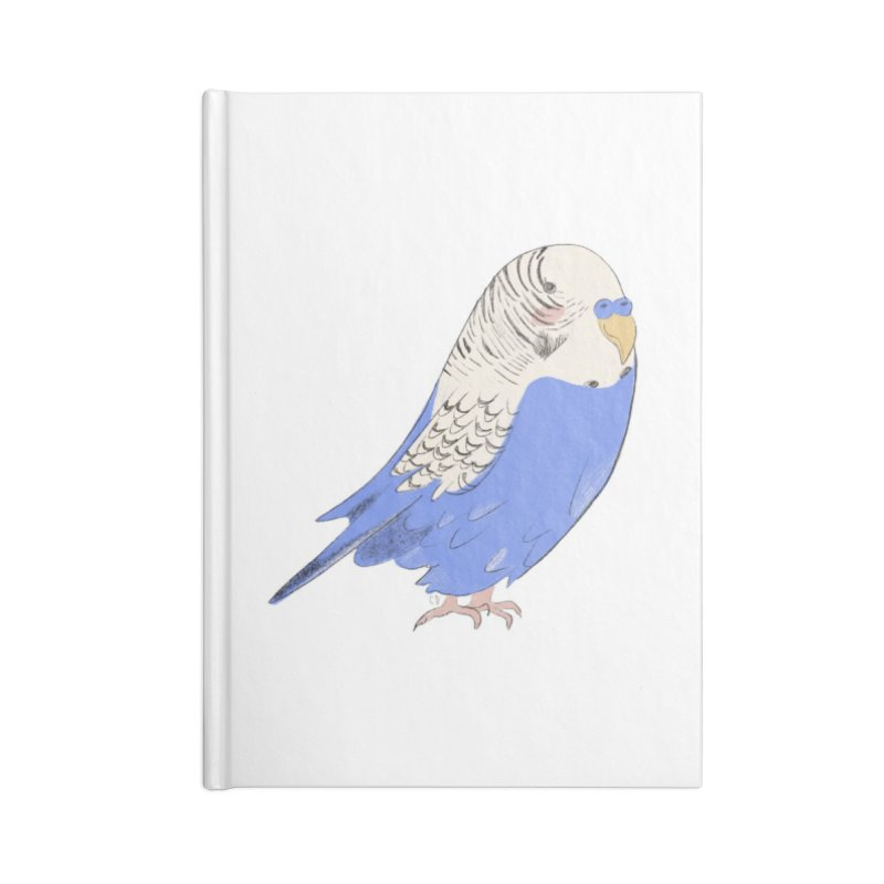 Stevie the Budgie Accessories Notebook by Cailin's Shop