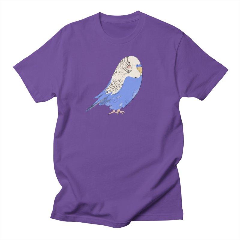 Stevie the Budgie Men's T-Shirt by Cailin's Shop