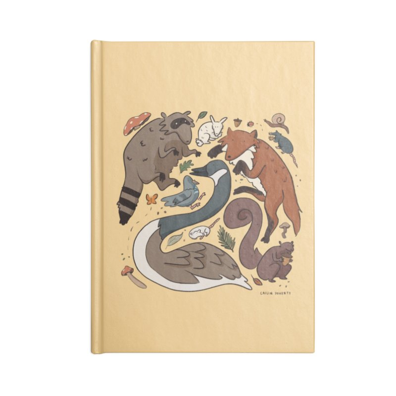 Critters Accessories Notebook by Cailin's Shop