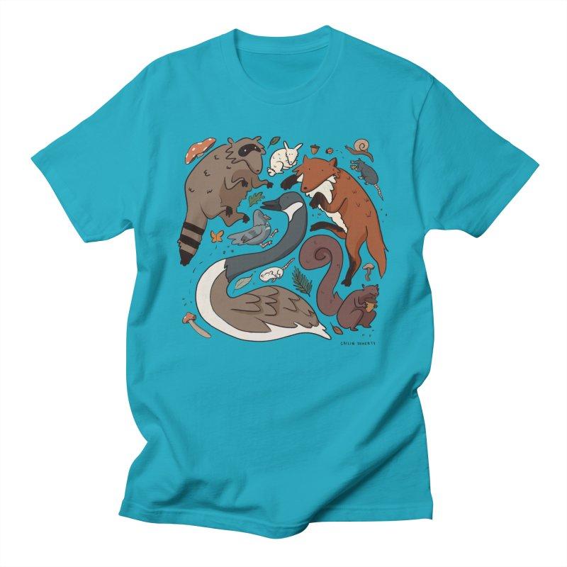 Critters Men's T-Shirt by Cailin's Shop