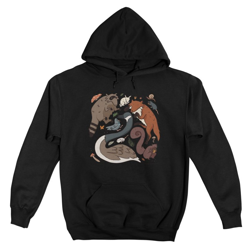 Critters Women's Pullover Hoody by Cailin's Shop
