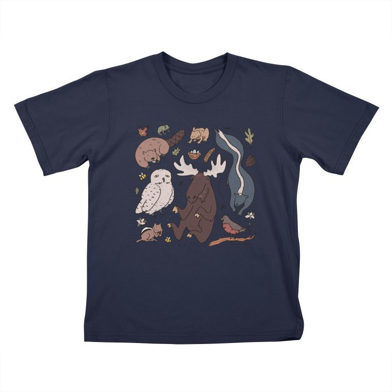 Critters 2 Kids T-Shirt by Cailin's Shop