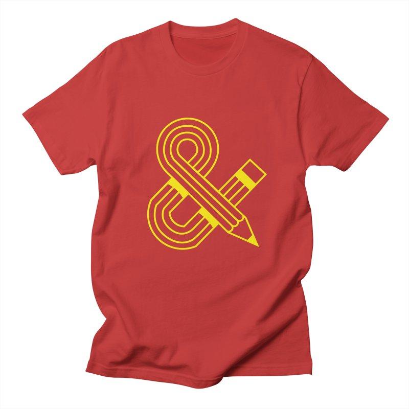 Amperpencil T-shirt Men's T-shirt by Caio Call Design Shop