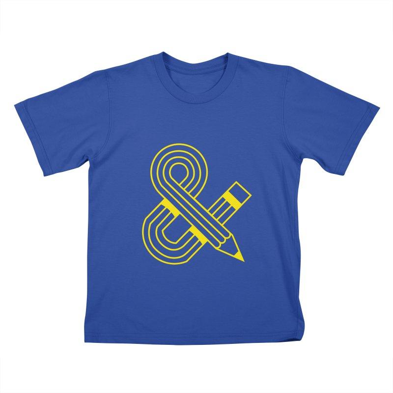 Amperpencil T-shirt Kids T-shirt by Caio Call Design Shop