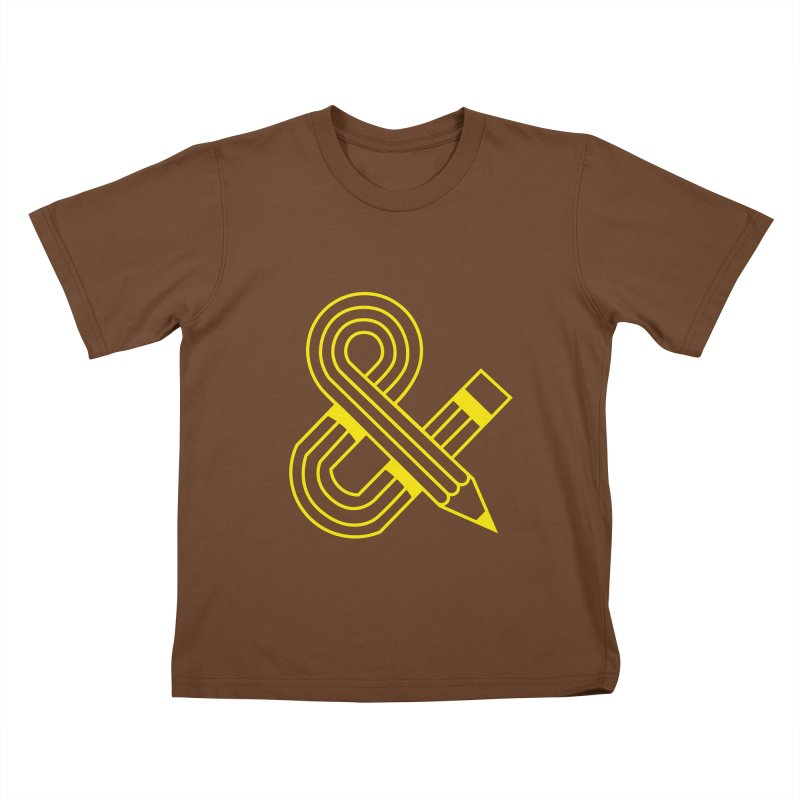 Amperpencil T-shirt Kids T-Shirt by Caio Call Design Shop