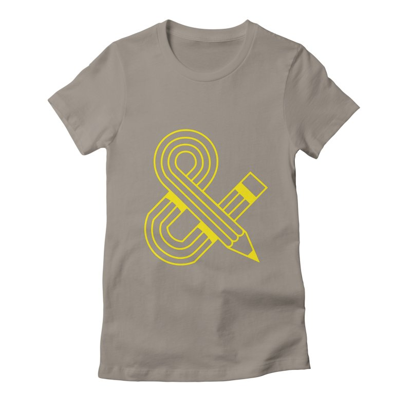 Amperpencil T-shirt Women's Fitted T-Shirt by Caio Call Design Shop