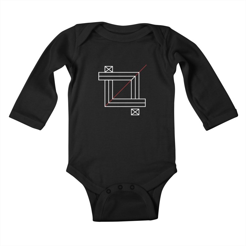 Crop Kids Baby Longsleeve Bodysuit by Caio Call Design Shop