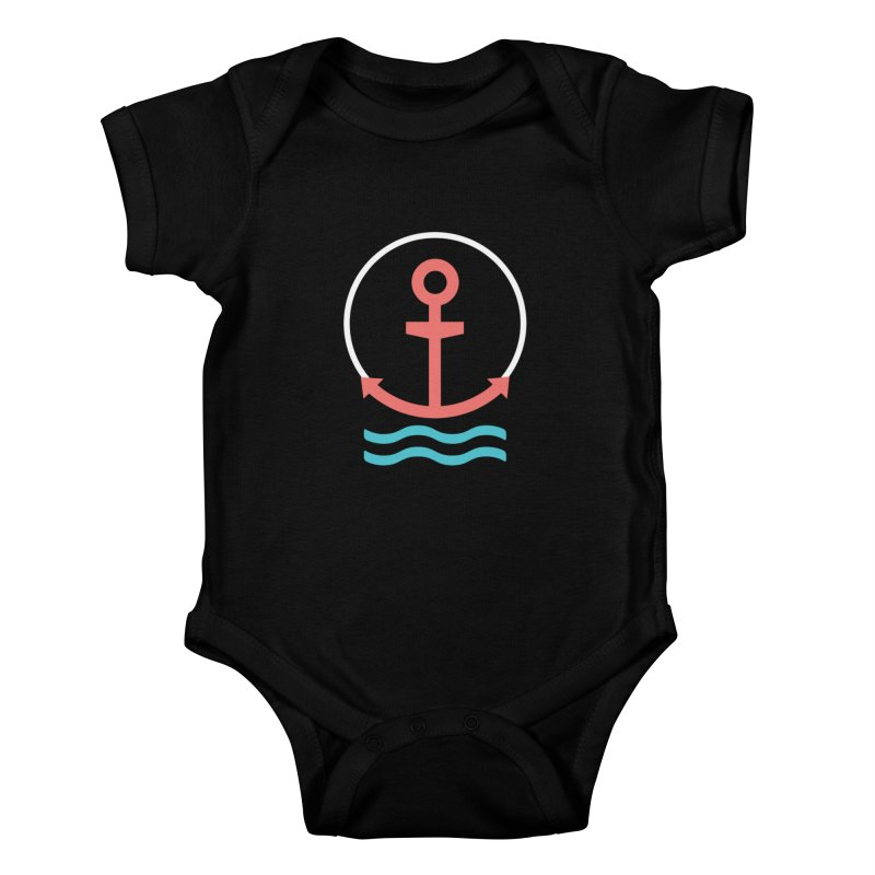 Anchortee Kids Baby Bodysuit by Caio Call Design Shop