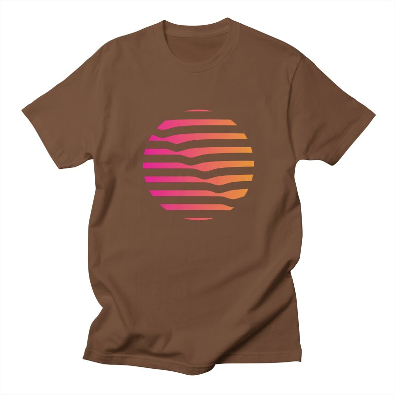 Geometric Circle Men's T-Shirt by Caio Call Design Shop