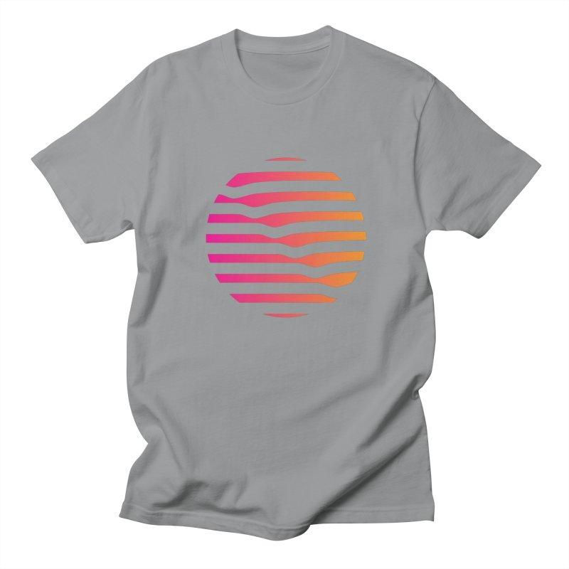 Geometric Circle Men's T-shirt by Caio Call Design Shop