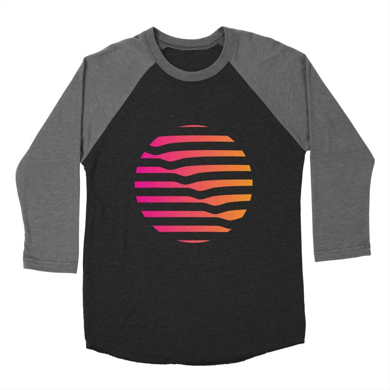 Geometric Circle Women's Baseball Triblend T-Shirt by Caio Call Design Shop