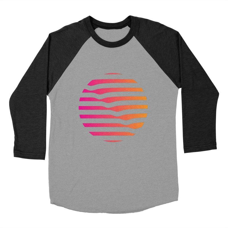 Geometric Circle Men's Baseball Triblend T-Shirt by Caio Call Design Shop